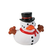 Snowman Rubber Duckies - 12 per pack