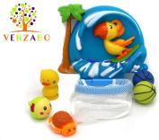 VERZABO SURFER PARROT BASKETBALL - bath toy set . plus babies