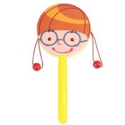 NOQ Cartoon Wooden Rattle/Children's Educational Toys