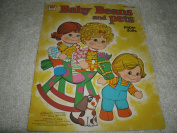 Mattel 1978 Baby Beans and Pets Paper Dolls
