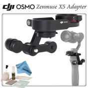 DJI Zenmuse X5 Adapter for Osmo with eDigitalUSA Brush Blower, Cleaning Kit & Microfiber Cleaning Cloth