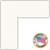 14x18 Super White Custom Mat for Picture Frame with 10x14 opening size