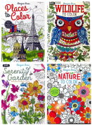 Adult Colouring Book Set