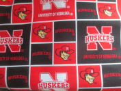 University Of Nebraska Corn Huskers Cotton Fabric