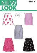 New Look Sewing Pattern 6843 Misses Skirts, Size A