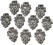 The Buckle Boutique Lace Inspired Rhinestone Brooch Buckle