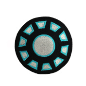 Iron Man Iron Arc Reactor Logo Embroidered Iron Patches