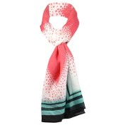 Style & Co. Women's Dotted Hearts Print Wrap Scarf
