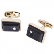Gentlemen's Premium Quality Rectangle Cufflinks