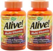 Nature's Way Alive Adult Multi-vitamin, 90 Gummies