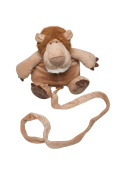 Animal Planet 2 in 1 Lion Toddler Safety Harness Backpack Children's Walking Leash Strap