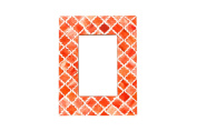 Coral Picture Frame