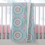 Carousel Designs Aqua Haute Baby Crib Blanket