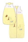 Baby Summer Sleeping Bag approx. 0.5 Tog - Zoo - 12-36 months/110cm