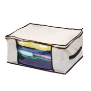 Clothes, Blanket Storage, Anti-mould, Breathable Material, Household Home Organisers Tidy Up Your Closets, Shelves, Blankets, Linen Cloth Create Extra Storage Space, Eco-friendly, Transparent Window (DIM