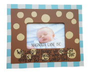 Hand-painted We Loved You Wood Frame by Magnolia Lane 28cm Square