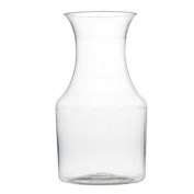 220ml Plastic Mini Wine Carafe Pitcher-6 Pieces Clear