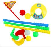 Child Plastic Golf Set,Child Golf Play Set