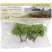 SCP Lemon Trees Craft Supply, 5.7cm to 6.4cm , 3-Pack