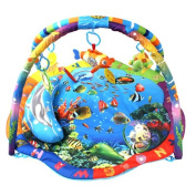 Golden Tulip 215110 Play Mat Activity Gym with Musical Toys