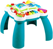 LeapFrog Enterprises Learn And Groove Musical Table Blue And White