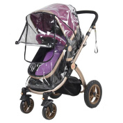 Baby Stroller Universal Pram Pushchair Rain Cover Wind Dust Mosquito Insect Net Baby Care Safety