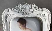white Resin Picture frame Crafts Decoration table photo frames Home Decoration birthday present