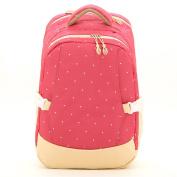 YuHan Baby Nappy Bag Travel Backpack Handbag Insulated Bottle Pockets Rose