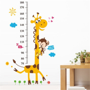 Height Chart wall Sticker Kid's Growth Chart wall decal Measure Wall Sticker