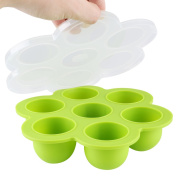 Baby Food Storage Container with Secure Lid£¬Soledi Multi - Purpose Storage Container for Homemade Baby Food, Fruit Purees,Breast Milk, Mini Cakes, FDA Approved, BPA Free