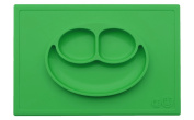 Smith's Happy Face Mat - One-Piece Silicone Placemat + Plate