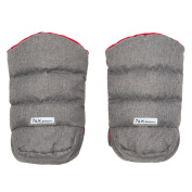 7 A.M. Enfant WarMMuffs Gloves Grey/Red Lining