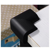 Hosaire 12 Pcs Thick Baby Safety Soft Corner Guards Baby Safety Protectors Corner Black