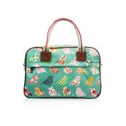 SALE Birds & Flowers 'Cath Kidston' Designer Style Matte Canvas Overnight Weekend Bag
