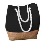 EyeCatch - Womens Modern Day Casual Ladies Canvas Tote Hobo Shoulder Bag Handbag