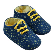 Baby Infant Soft Sole First Walking Shoes Stars Toddler Sneakers