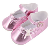 Baby Girl Toddler Soft Sole Princess First Walking Shoes