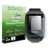 2 x DISAGU Armour screen protector for TomTom Spark screen fracture protection film