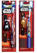 Star Wars Firefly Toothbrush & Cap Travel Kit - 2 Toothbrushes
