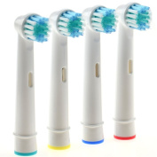 JJOnlineStore - JJOnlineStore - Toothbrush Replacement Electric Tooth Brush Heads Spare Brushes Compatible with Oral B/Braun Vitality Floss Action Clean Precision New