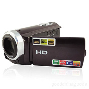 SSstar 7.6cm LCD Touch Screen 1080p Full Hd Video Camera 16x Zoom Digital Camcorder Colour Black
