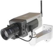 Uphig Fake Dummy CCTV Camera Motion Detection Sensor Motorised Pan Movement LED