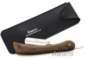 Straight Shaving Razor Handle, Cut Throat Barber Shaving shavette, New Wooden Handle
