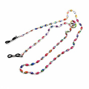 Stainless Steel Chain Eyeglass Spectacles Sunglasses Neck Holder Colourful