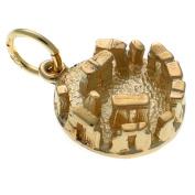 9ct Gold Stonehenge Charm Pendant WBC1600