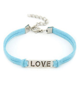 Jewellery Gift FEITONG Women Men Love Handmade Alloy Rope Charm Weave Bracelet