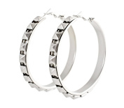 Geralin Gioielli Women 'S Earrings Vintage Earring Hoops Silver