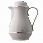 Rotpunkt 330 Insulated Jug 1 Litre Porcelain White
