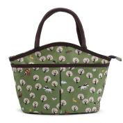 ZXKEE Cartoon Painting Design Women Handbags Portable Picnic Bags Lunch Bag