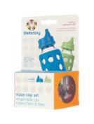 Lifefactory Sippy Cap Set, Plastic, Multi-Colour, 2-Piece